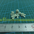 1/35 Resin Models Soldier WW II Scenario Teddy Bears Pigs And Little Girl Resin Models