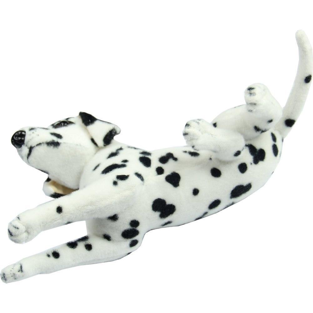 New Lovely Stuffed Toys Dalmatians Simulation Dog Plush Animal Gift [Toy]