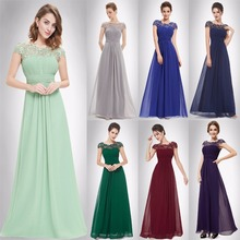 Evening Dresses New Arrival Fashion Ever Pretty Purple EP09993 Chiffon Open Back Elegant 2017 High Quality Formal Party Dress