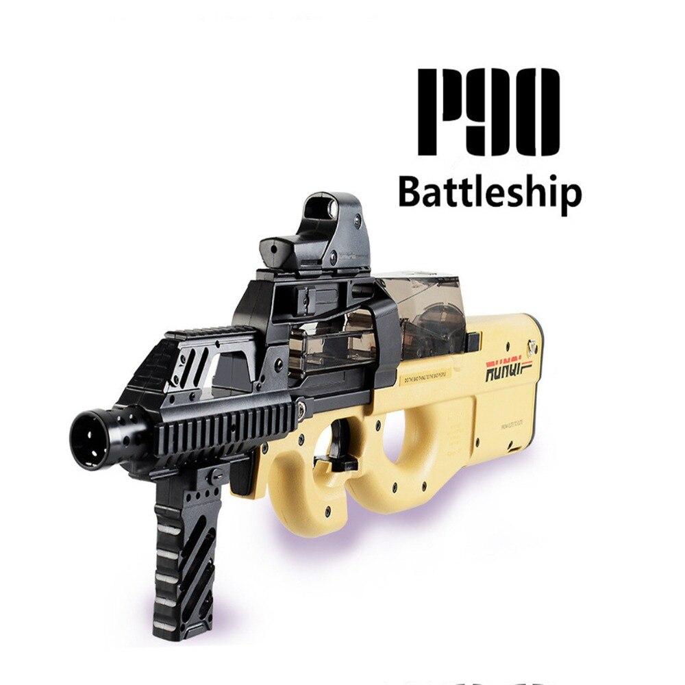 Nylon BingFeng P90 Gel Boule Blaster Mag-nourris D'eau Cristal Bullet AU Stock
