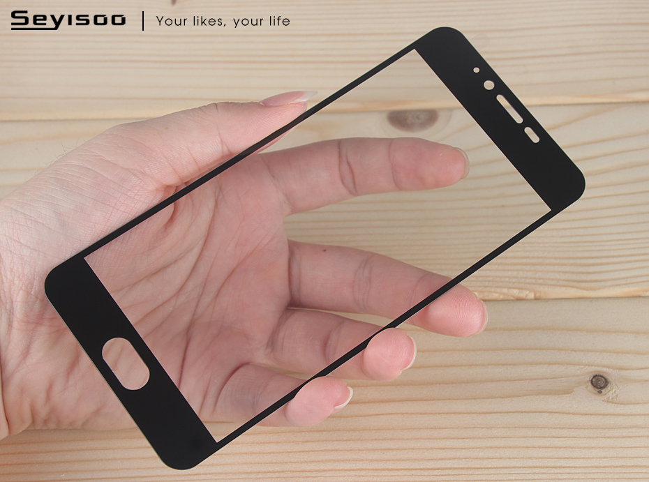 Seyisoo Brand Full Cover Tempered Glass For Meizu M5 (15)