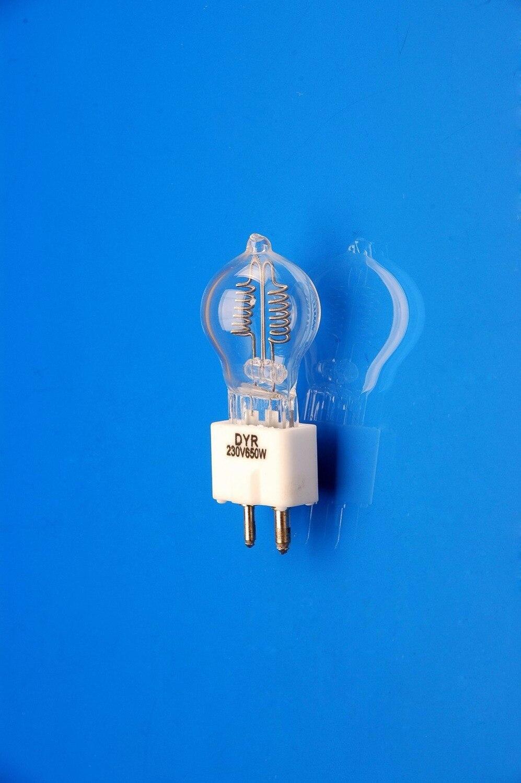5PCS DYR 230V650W GZ9 5 halogen projector bulb JCD 230V 650W A1 233 overhead projection light