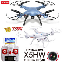 2016 NEW Syma X5HW FPV RC Quadcopter Drone with WIFI Camera Pressure High VS Syma x5sw -1 Upgrade RC Helicopter Toys