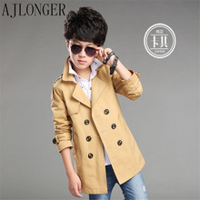 New Spring And Autumn Fashion Jacket Boy Outerwear Windbreaker Coat