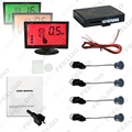 10-Color Car 3-Stage Background Color Alarm LCD Monitor Backup Reversing Aid Parking Sensor System #FD-1813