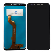 лучшая цена For Tecno F4 Pro LCD Display With Touch Screen Digitizer For Tecno Pop 1S Pro Glass Combo Assembly Replacement Parts 5.5 inches
