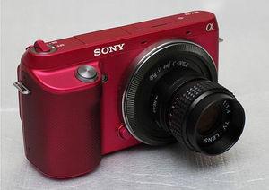 Image 3 - 25mm F1.4 CCTV TV lens+C Mount to Sony E:NEX3 NEX C3 A6000 A6500 NEX 5T NEX6 NEX 5 NEX 5N NEX 5R NEX7 NEX F3