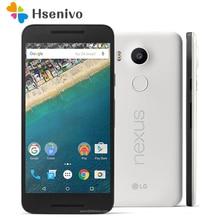"100% Original LG Nexus 5X H791 Entsperrt 5,2 ""LTE 4G Hexa Core 2 GB RAM 16/32 GB ROM 13,0 MP Kamera 1080 P Android 6.0 Smartphone"