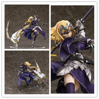8 Fate Grand Order Anime Apocrypha Ruler Joan of Arc 5th Flag Boxed 19cm PVC Action Figure Model Doll Toys Gift