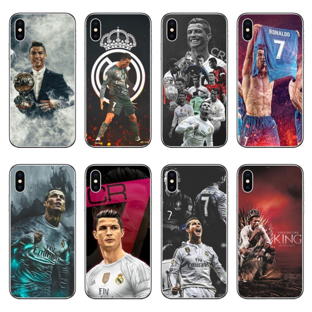 Cristiano Ronaldo Cr7 Football Pattern Design Hard Plastic Cover For Iphone 5 5s 6 6s 8 8 Plus 7 7plus Se X Cases Coque Fundas Catalogues Will Be Sent Upon Request