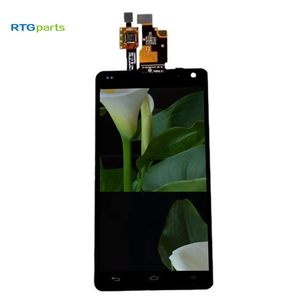RTGparts LCD Touch Screen Digitizer Assembly For LG Optimus G LS970 F180 E971 E973 E975