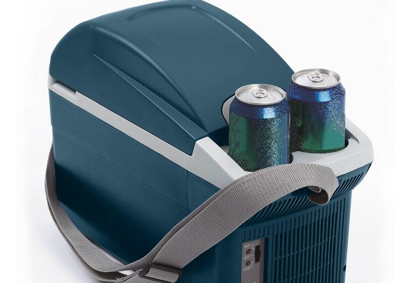 Genuine hot and cold box car refrigerator dual refrigeration heating mini automotive font b electronic b
