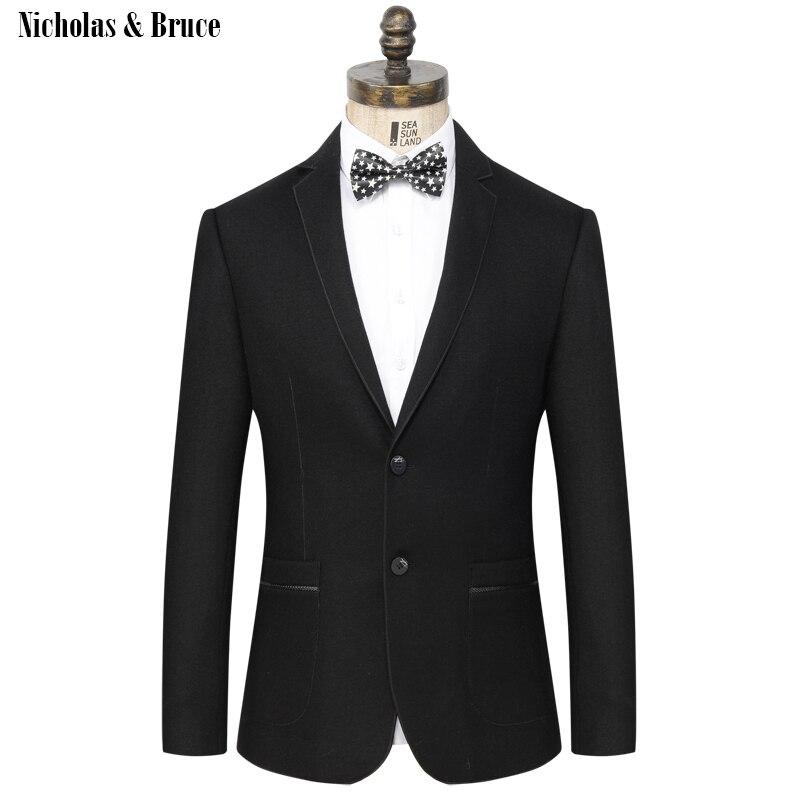 N & B пиджак 2019 мужской формальный черный блейзер мужской s Frock пальто свадебный пиджак мужской шерстяной хлопковый костюм пальто платье-пидж...