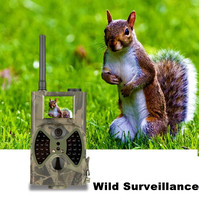 GSM security camera 12MP 1080P 940nm Outdoor hidden Trail Camera Wild surveillance night vision hunting camera wireless outdoor