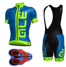 2017 ALE MTB Cycling Jersey Cycling Bib Shorts Ropa Ciclismo Bike Jersey Cycling Clothing Short Sleeve Bicycle Clothing Sets