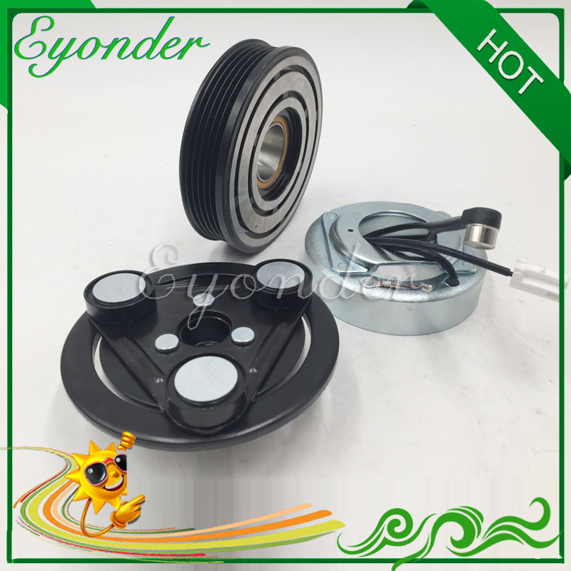 Cooling System Ac A/c Air Conditioner Compressor Magnetic Electromagnetic Clutch Pulley For Mazda 3 Mazda 5 2.0 At C236-61-l30 C236-61-l30a