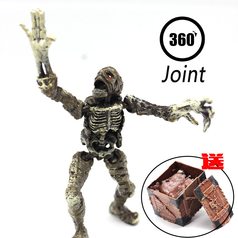 new arrival mummy human skeleton pvc action figure model toy gifts, Skeleton