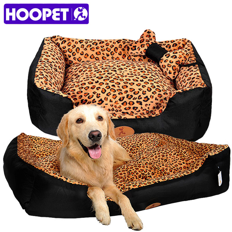 HOOPET dog nest camas para caes warm pet house pets bed big house for dogs sofa