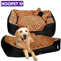 HOOPET dog nest camas para caes warm pet house pets bed big house for dogs sofa accessories