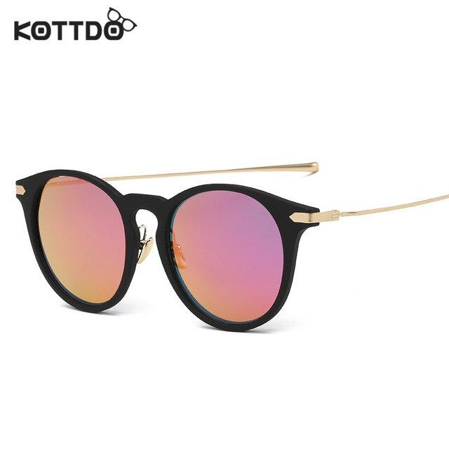 a00954b33b KOTTDO Fashion Women Polarized Sunglasses Brand Women Driving Metal Coating Points  Sunglasses Female Sun Glasses UV400 Eyeglass