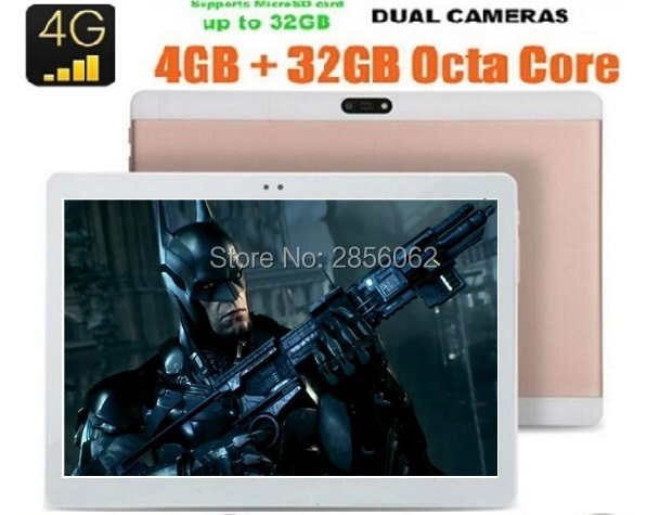 4G Phone Call Tablet 10 inch Octa Core Android 6 0 1920x1200 8 MP Dual Camera
