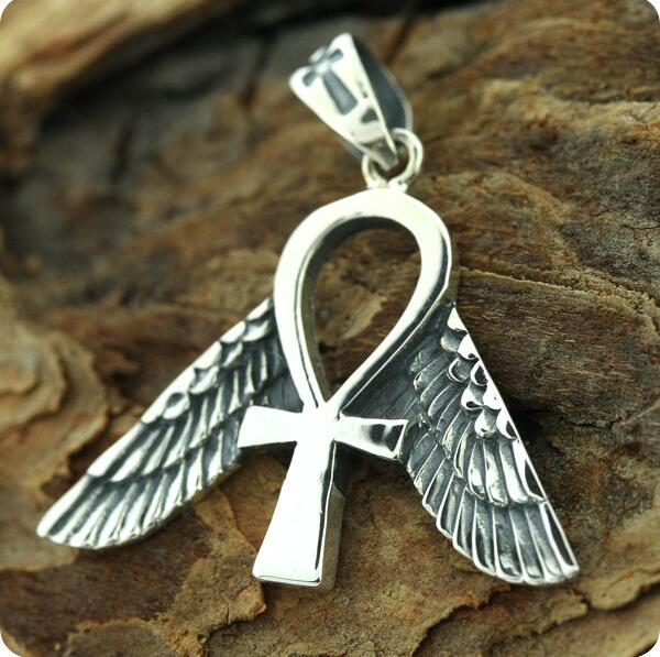 10pcs Egyptian Jewelry Freedom Ankh Symbol Pendant In Pendants From