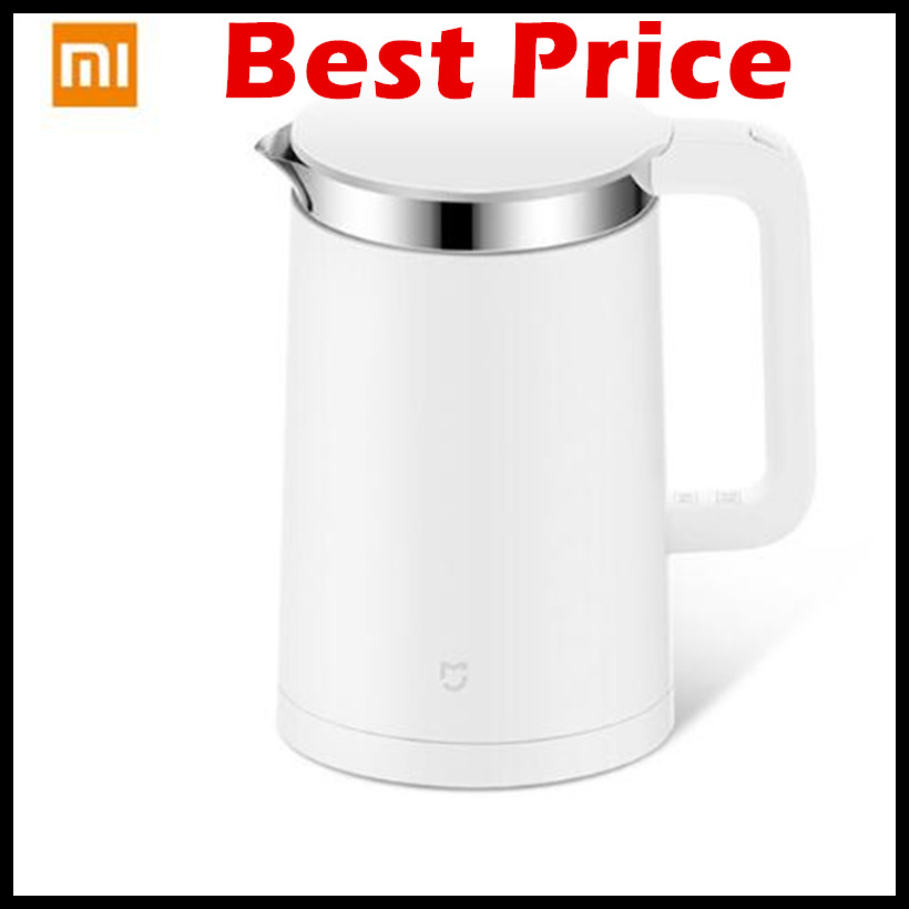 Original Xiaomi Electric kettle Smart Constant Temperature Control Water Mi home 1.5L Thermal Insulation teapot Mobile APP Mijia kettle thermostat temperature control switch electric kettle accessory replaceme