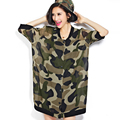 2016 New Casual Spring and Summer Women Chiffon Cardigan Camouflage Clothing Loose Ladies Air-conditioned Woman Shirt ST074