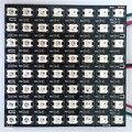 P10mm 8*8 pixels WS2812B digital led (ws2811 IC controlada) luz do painel flexível, tamanho: 9 cm * 9 cm, a entrada DC5V