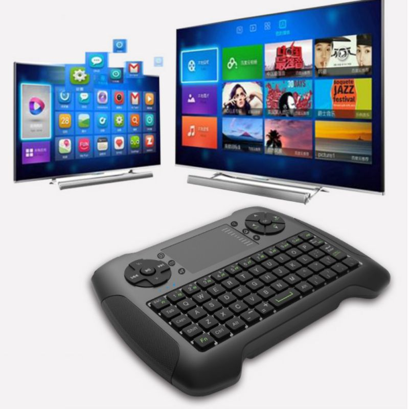 Nouvelle souris à Air sans fil avec clavier tactile souris à main Combo télécommande pour bureau/ordinateur portable/Smart TV - 6