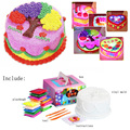 New Creative DIY Light Snowflakes Mud Playdough Graffiti Glowing Cake Gift Piggy Bank Educational Toys Children's Toys