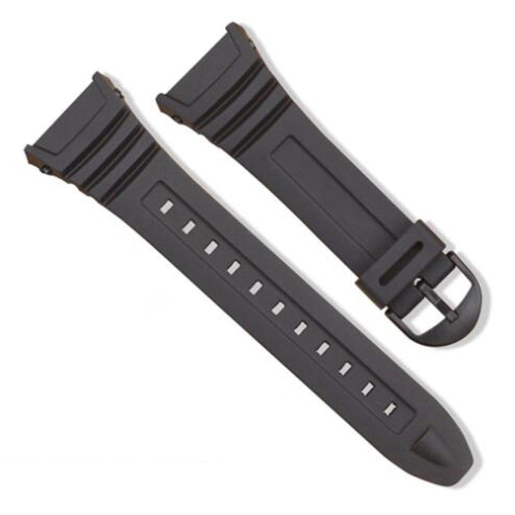 1e3ee464ebf Pin Fivela De Aço Inoxidável Relógio Banda de Silicone Pulseira De  Substituição para Casio W-