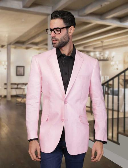 Light Pink Blazer Mens | Model Aviation