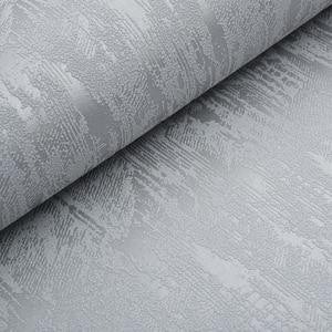 Image 2 - ClassicสีเทาEmbossed Textured WallpaperออกแบบสีผนังกระดาษRoll Home Decorพื้นหลัง