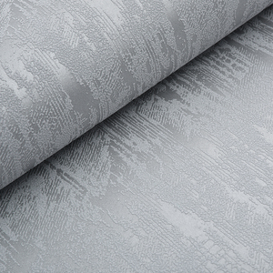 Image 2 - Classic Plain Grey Embossed Textured Wallpaper Modern Simple Design Solid Color Wall paper Roll Home Decor Background