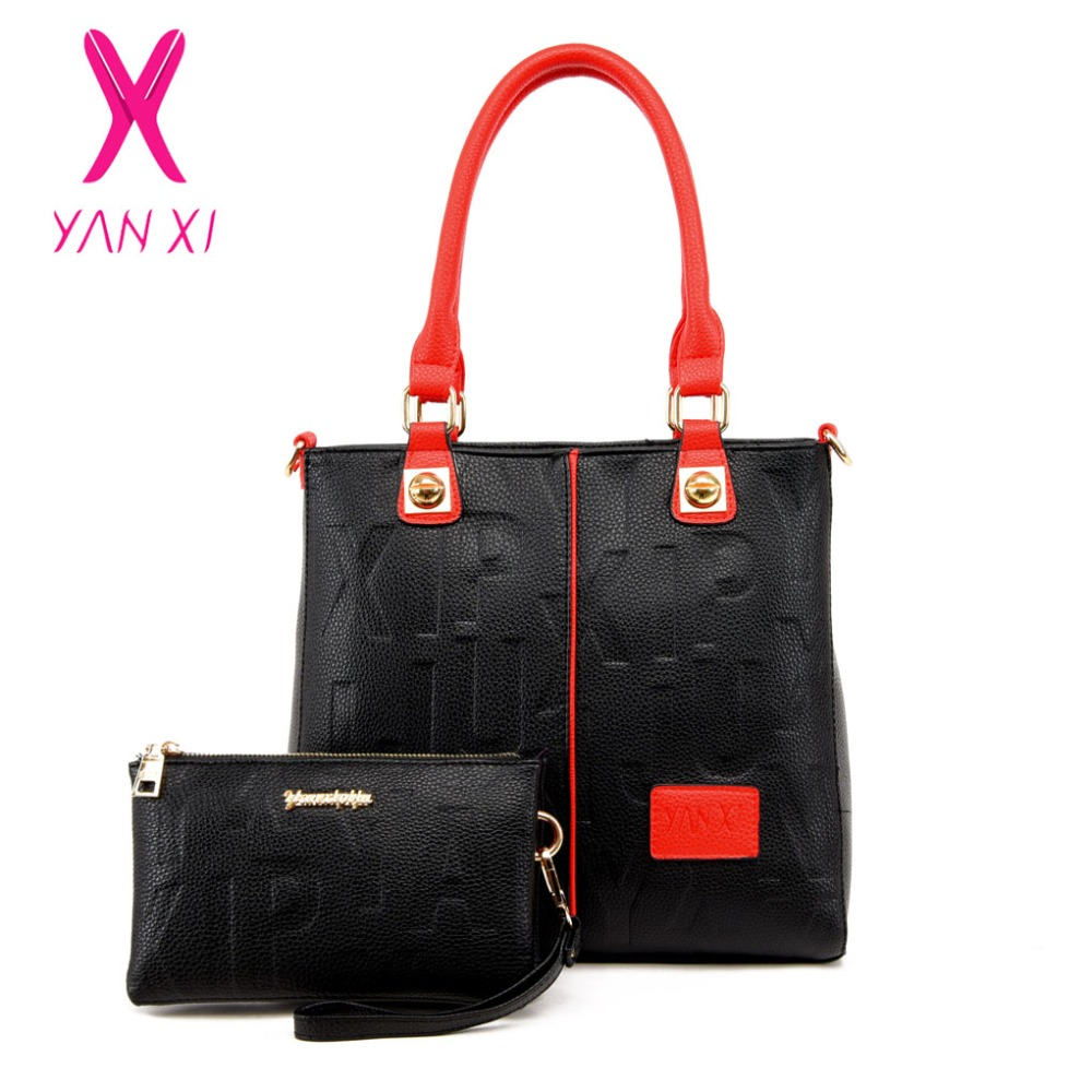 NEW Factory Outlets Leather Female Retro 4 Colors Lady PU Handbags  Messenger Shoulder Totes Luxury Handbags 49836dd0f6f34