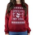 christmas hoodies  Women Blouse christmas Printing Snowflake Clothing Sweatshirts Shirts DM#6