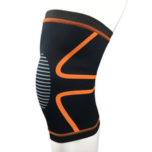 1PC Knee Sleeve Brace upport Knee Wraps Bandage Protect Kneepad Elastic Nylon for Fitness Weight Lifting Running Cycling