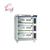 Electric Professional oven pizza bread oven 3 Layers 6 Trays Stainless Steel Food Toaster Baking Machine DFL 36 1pc