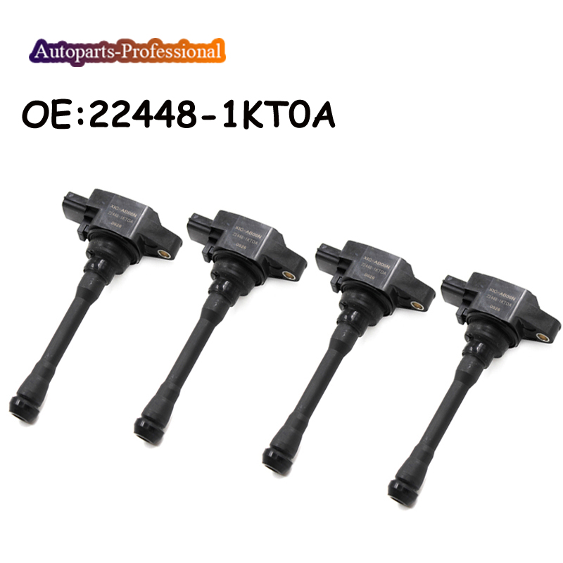 4 PCS 22448 1KT0A 22448 JA00C For Nissan NV200 Rogue Versa For Infiniti FX37 M56 QX70
