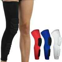 1Pair Professional Elastic Crashproof Legwarmers Sport Safety Cycling Basketball Leg Sleeve Football KneePads Protector Gear