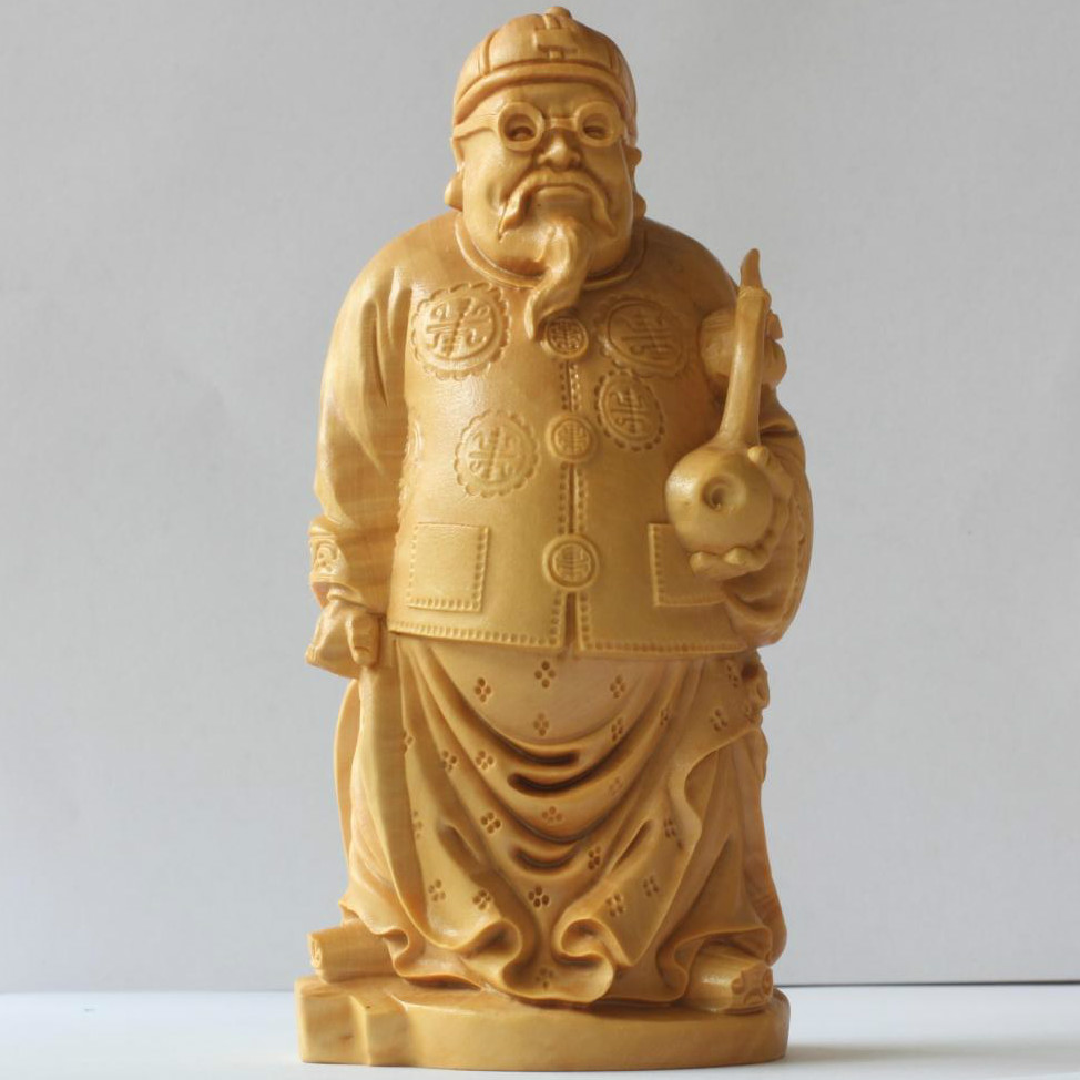 1pcFolk Art China traditional People Landlord Carved Yellow Boxwood Room wood carved Home Decoration  & Collectible free ship1pcFolk Art China traditional People Landlord Carved Yellow Boxwood Room wood carved Home Decoration  & Collectible free ship