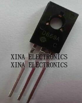 20PCS New 2SD669A D669A Transistors