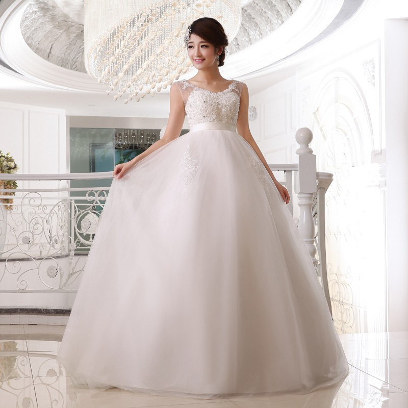 Elegant Ball Gown Wedding Dresses: 2017 Brand New Wedding Dresses White/Ivory Elegant Bridal