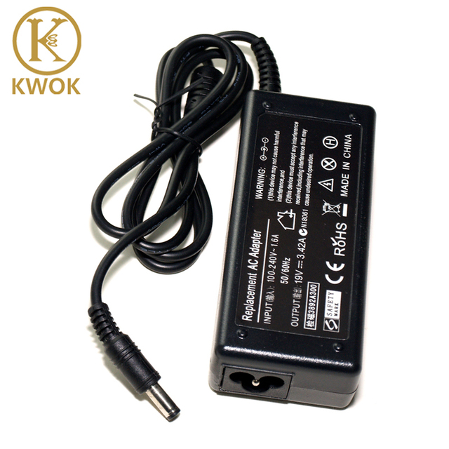 Universal High Quality 19V 342A 65W Laptop Charger For Toshiba Charging Device Netbook
