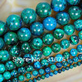 "Hot Sale Chrysocolla Stone Round Loose Spacer Beads 15"" 6mm 8mm 10mm 12mm 14mm Pick Size-free Shipping -F00089"