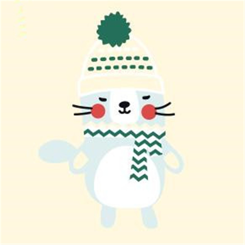 Cute winter animal pvc patch deal with it iron on transfers for clothing heat transfer patches for clothes baby t shirt stickers