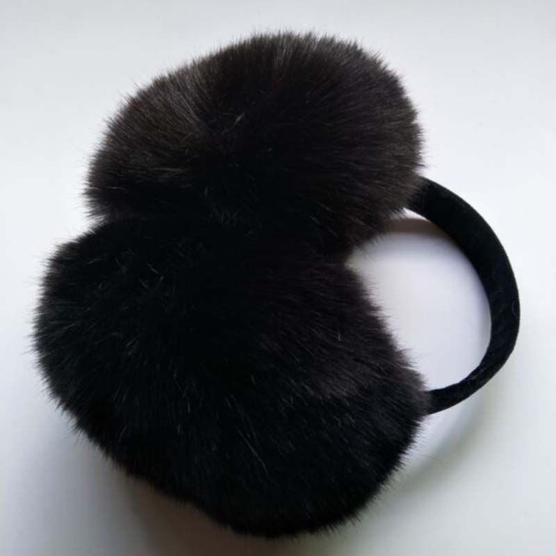 1 Pcs 2017 New Artificial Fox Fur Earmuffs Autumn And Winter Keep Warm Long Wool Ear Muffs Winter Ear Warmers 8 Colors 8442