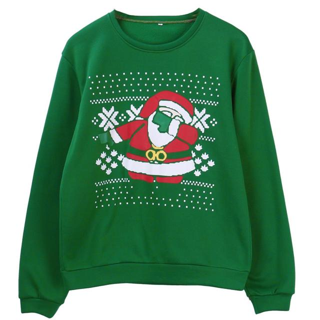 Green Mens ugly christmas sweater 5c64c1130a7b4