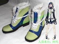 Dramatical Murder Noiz Halloween Winter Cosplay Boots Shoes H016